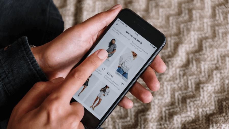 mobile eCommerce design - Flixstock